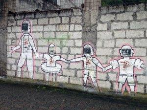 Street art: Banos, Ecuador